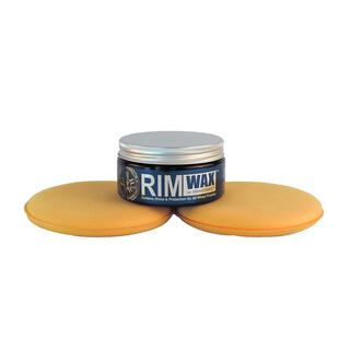 RIMWAX -  Felgenpolitur Felgenreiniger Felgenwachs 235ml + 2 Applicator Pad