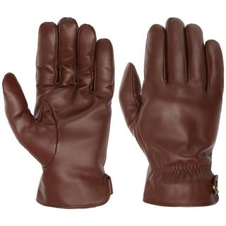 Stetson Conductive Leather Gloves Brown 9,5/XL